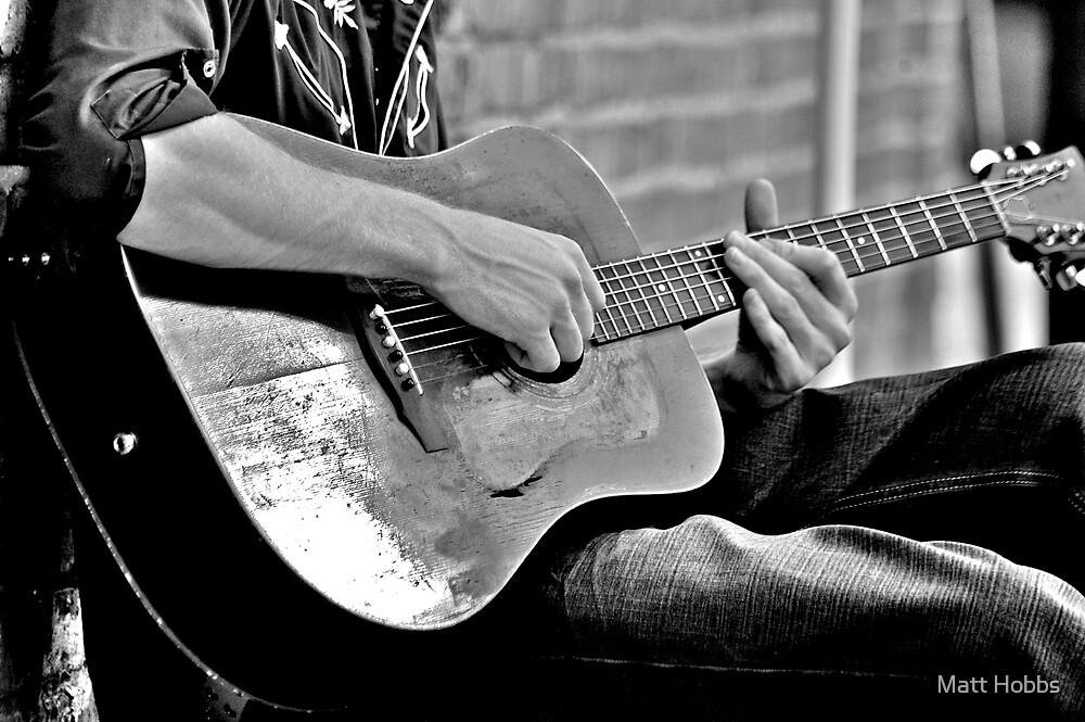 Homeless Guitar by Matt Hobbs