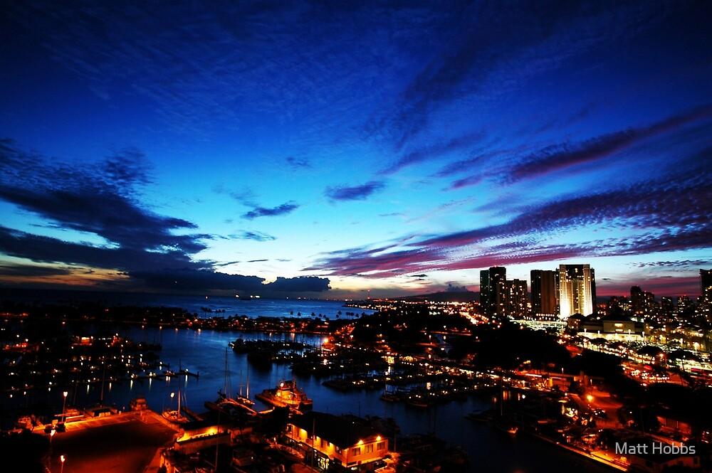 Hawaii Sunset by Matt Hobbs
