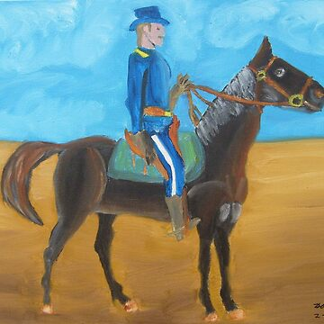 Riding thru the Desert by bobcauley