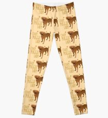 Crazy Puggle Lady (puppy dog) Leggings