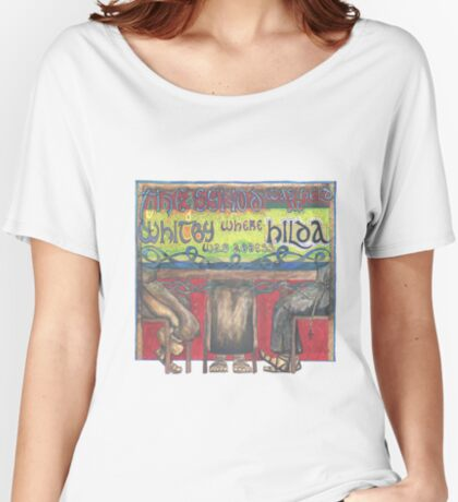 Abbess Hilda and the Synod of Whitby Women's Relaxed Fit T-Shirt