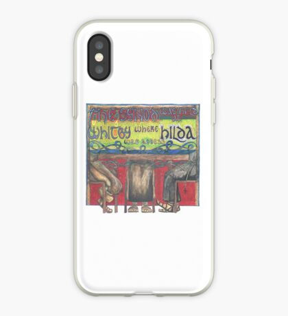 Abbess Hilda and the Synod of Whitby iPhone Case