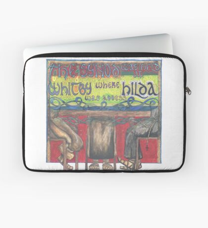Abbess Hilda and the Synod of Whitby Laptop Sleeve