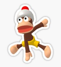 Ape Escape 3 Monkey Dance Sticker
