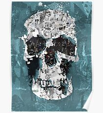 The Blue Skull of Baker Street Poster