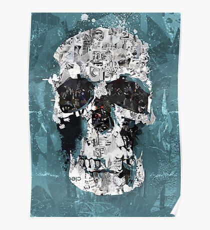 Sherlock Skull Posters Redbubble