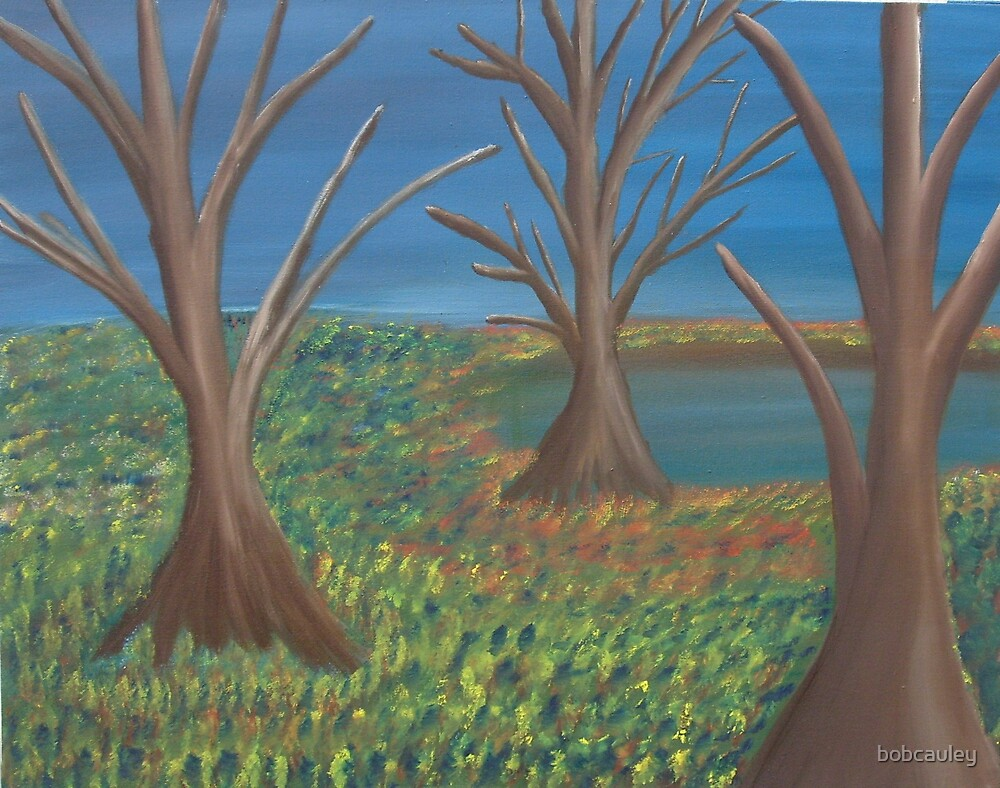 The Three Trees by bobcauley