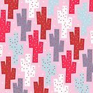 Sweet cactus pattern by Yetiland