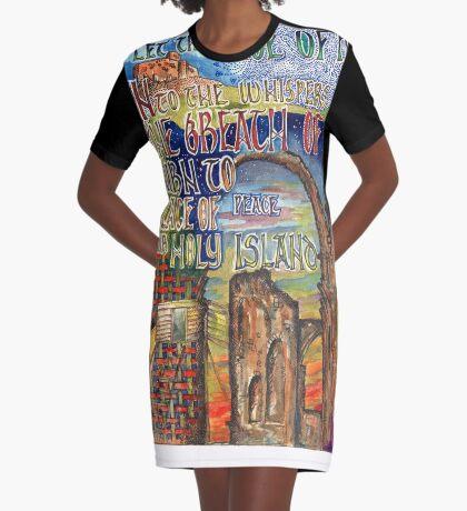 Holy Island Graphic T-Shirt Dress