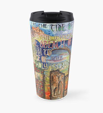 Holy Island Travel Mug