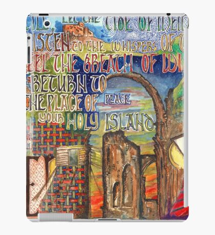 Holy Island iPad Case/Skin
