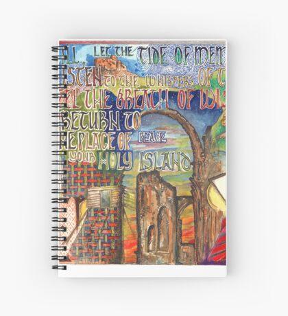 Holy Island Spiral Notebook