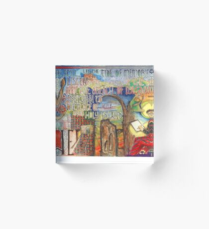 Holy Island Acrylic Block