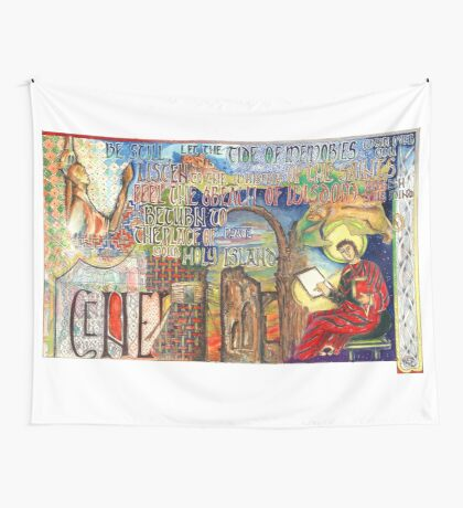 Holy Island Wall Tapestry