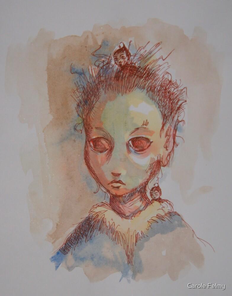 Three faeries by Carole Felmy