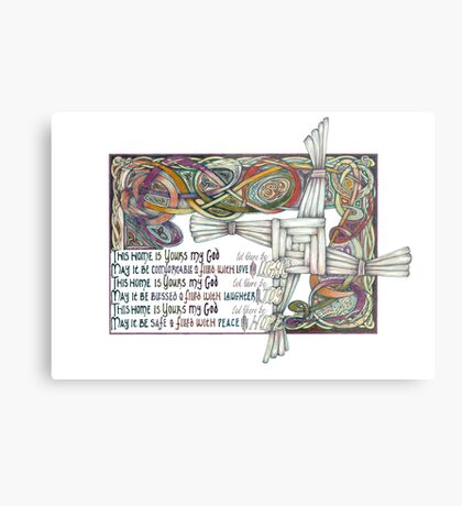 Home Blessing Metal Print