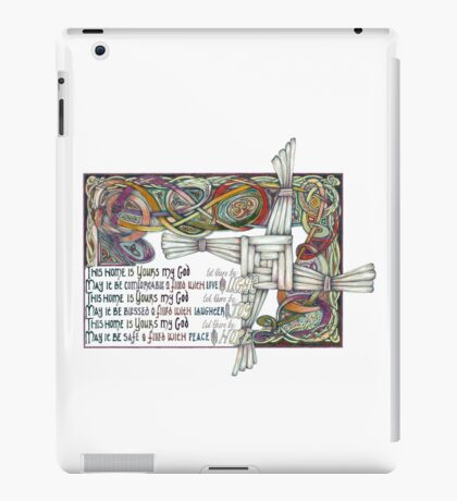 Home Blessing iPad Case/Skin