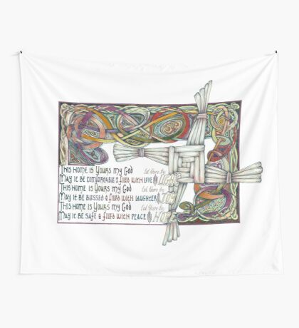 Home Blessing Wall Tapestry