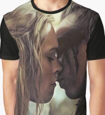 Clexa kiss Graphic T-Shirt