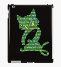 """Fish for Pussies"" T-Shirts iPad Case/Skin"