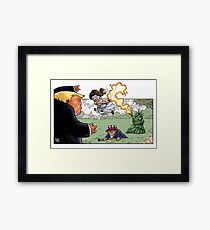 Make Triple Techs Great Again Framed Print