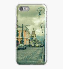 Riobamba Historic Center Urban Scene iPhone Case/Skin