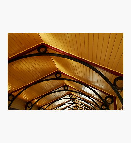 Above, Queenscliff Pier Shelter Shed Photographic Print