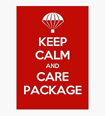 Keep Calm - Care Package Photographic Print