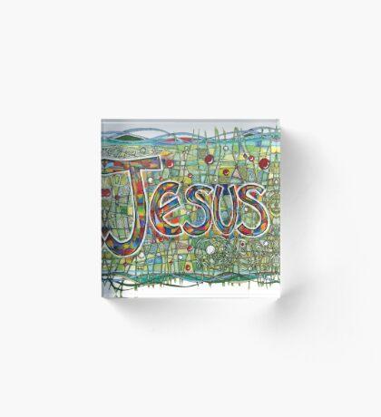 Jesus Acrylic Block