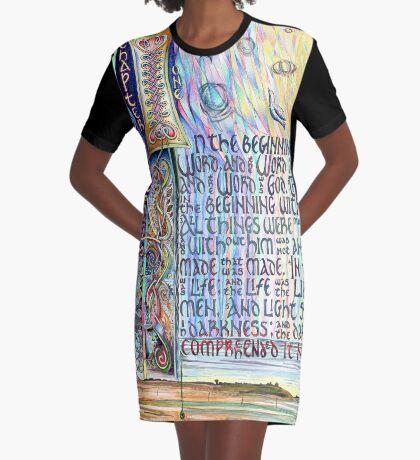John 1 Graphic T-Shirt Dress