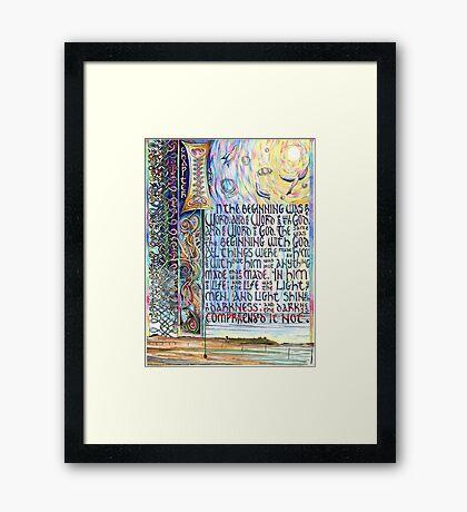 John 1 Framed Print