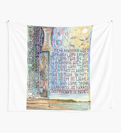 John 1 Wall Tapestry