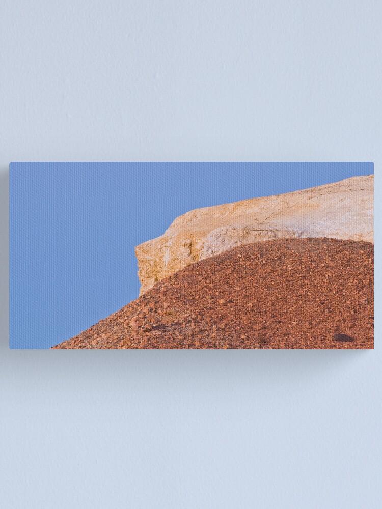 Alternate view of Ochre hills at dusk Canvas Print