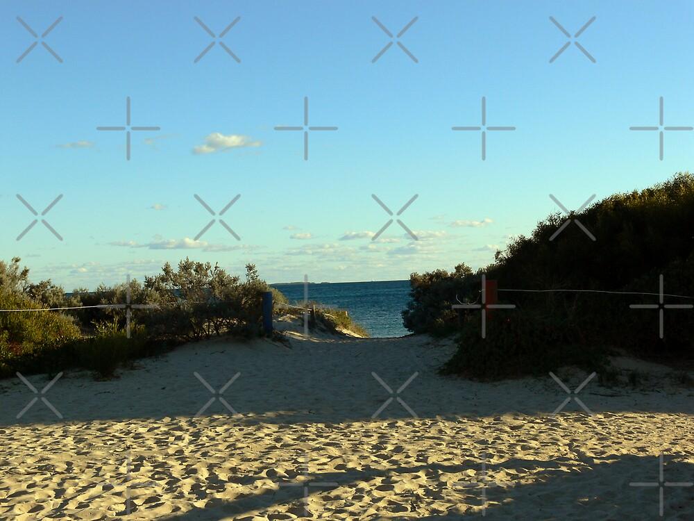 Fremantle Beach Area by Sandra Chung