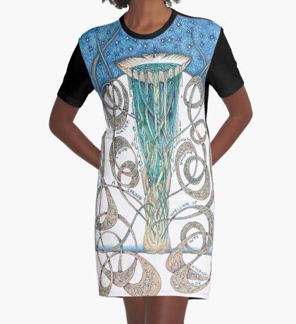 Never Thirst Again Graphic T-Shirt Dress