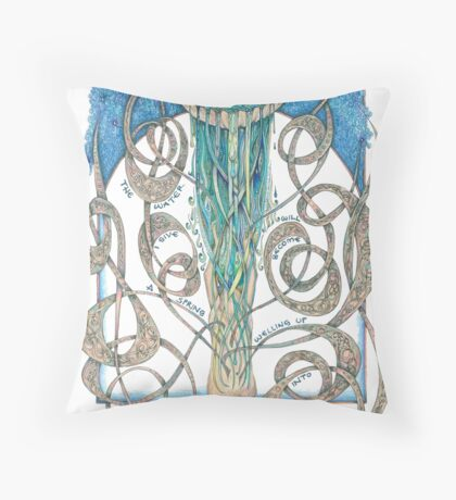 Never Thirst Again Throw Pillow