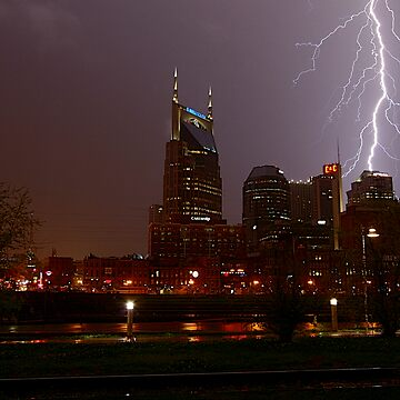 Lightning Over Nashville by therealmatthobbs