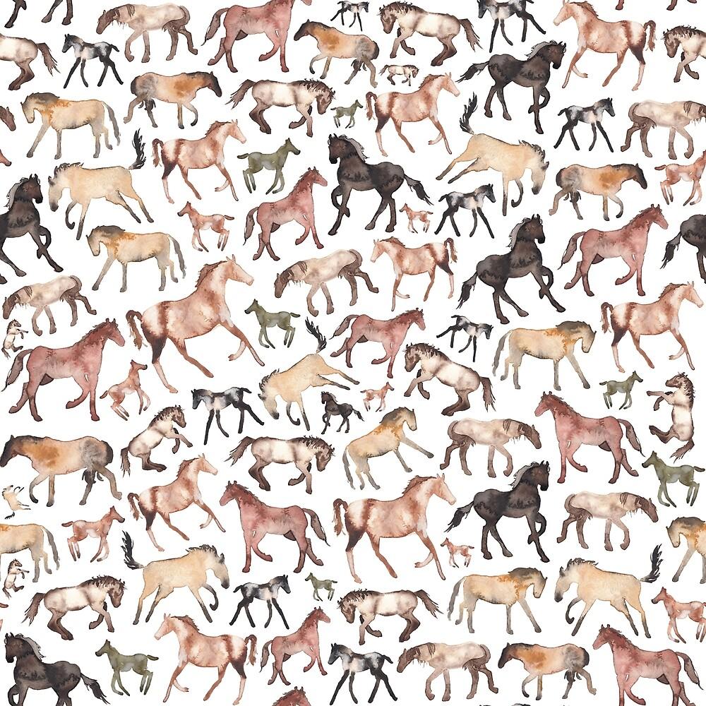 Horses by Elena  O'Neill