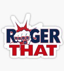 Tom Brady Roger That Sticker