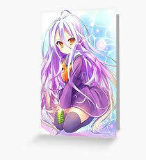 No game no life Greeting Card