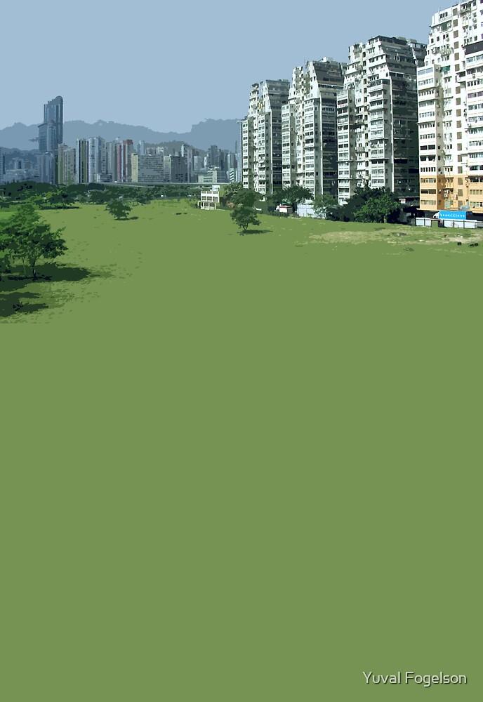 hong kong green by Yuval Fogelson