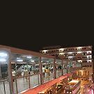 hong kong walkway by Yuval Fogelson