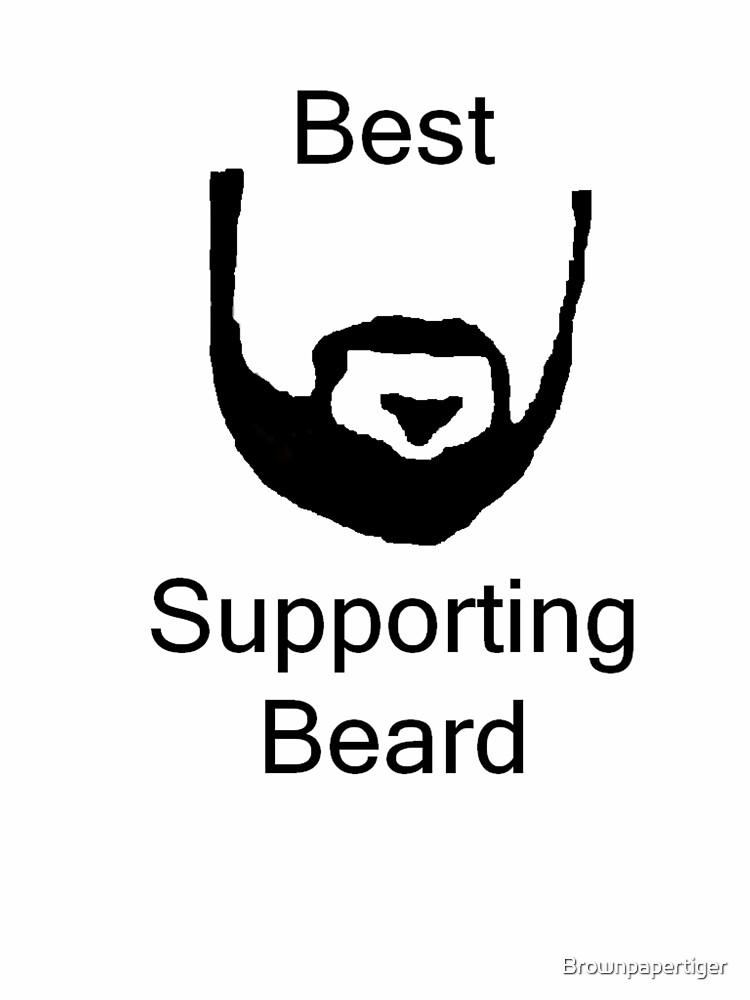 Best Supporting Beard by Brownpapertiger
