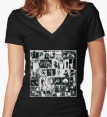 Exile On Main Str Women's Fitted V-Neck T-Shirt