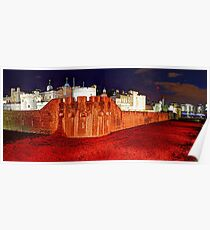 The Tower of London Poppies - 1 Poster