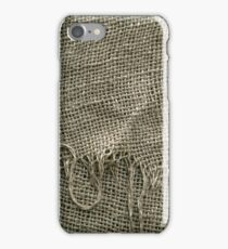 Burlap Sack Texture iPhone Case/Skin