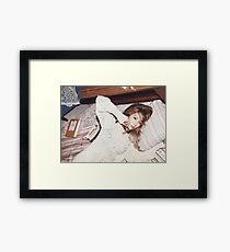 Taeyeon - SNSD Framed Print