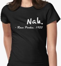 Nah - Rosa Parkes Collection - Black History Month Special Women's Fitted T-Shirt