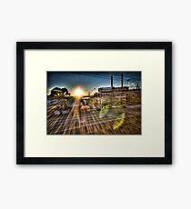 White Bay Sunrise 1 Framed Print