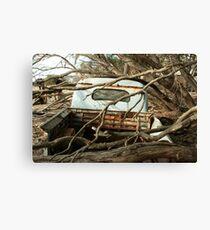 Austin A70 Hampshire Ute, Tray Canvas Print